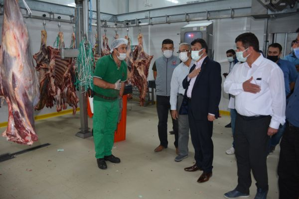 AK Parti heyeti, Van Et ve Süt Kurumunu ziyaret etti