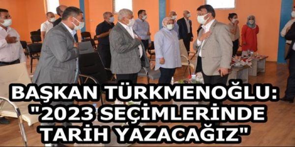 Başkan Türkmenoğlu,