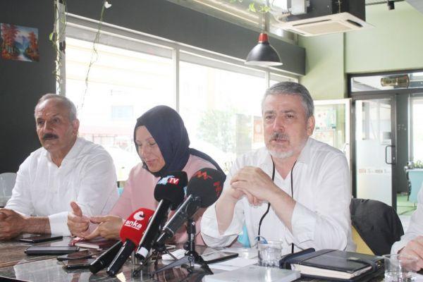 Gelecek Partisi Genel  Başkan Yardımcısı Pulcu Van'da gazetecilerle bir araya geldi
