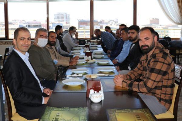 Haldi Otel gazetecileri ağırladı