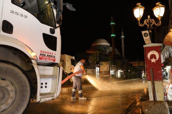 İpekyolu Belediyesi'nden bayram temizliği seferberliği