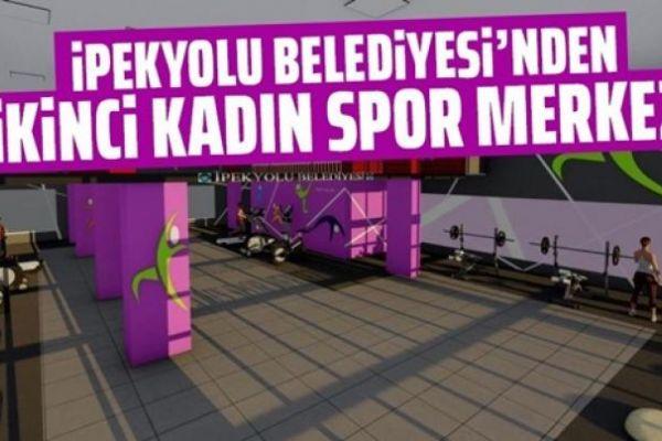 İpekyolu Belediyesinden ikinci kadın spor merkezi