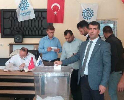 Memleket Partisi Çaldıran İlçe Başkanlığına Bişar Biliciler seçildi