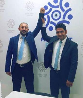 Memleket Partisi Edremit İlçe Başkanlığına Mehmet Veysi Metin getirildi