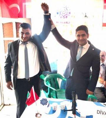 Memleket Partisi Erciş İlçe Başkanlığına Halil Kızılkaya seçildi