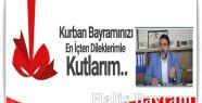 Başkan Bayram'da Kurban Bayramı Mesajı