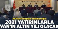 İl Başkanı Türkmenoğlu AK Parti Teşkilatlarıyla...