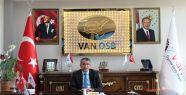 OSB Başkanı Aslan gazeteciler gününü...