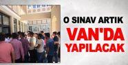 SRC Sınavı artık Van'da yapılacak
