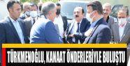 Türkmenoğlu, Başkale'de Kanaat Öderleriyle...