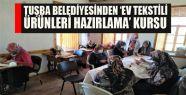Tuşba Belediyesinden 'Ev Tekstili Ürünleri...