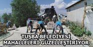 Tuşba Belediyesinin mahalleleri güzelleştirme...