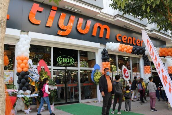 Tiyum Center üçüncü şubesini hizmete sundu