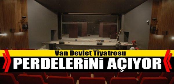 Van Devlet Tiyatrosu perdelerini açıyor