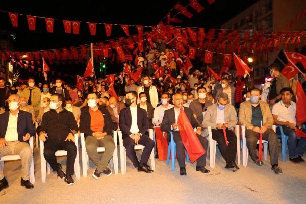 Van'da 15 Temmuz Demokrasi Zaferi kutlamaları
